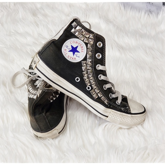 Converse Chuck Taylor All Star studded high tops